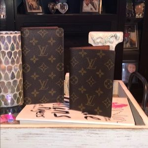Louis Vuitton Accessories - Authentic Louis Vuitton Mon check book/ passport